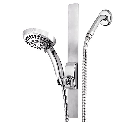 (Waterpik VSS-563MT Series Shower Head, Chrome)