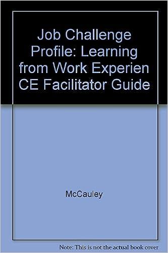 Libri scaricabili gratuitamente per ebook Job Challenge Profile: Learning from Work Experien CE Facilitator Guide in italiano PDF iBook 0787951501