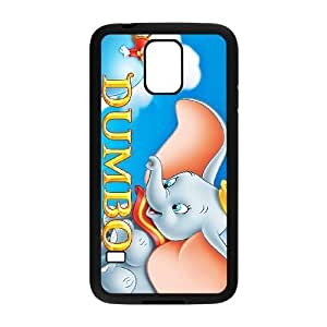 SamSung Galaxy S5 phone cases Black Dumbo cell phone cases Beautiful gifts JUW80989049