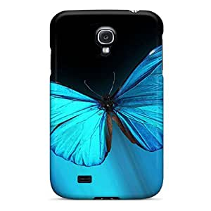 Samsung Galaxy S4 KAc14930XwHv Customized Trendy Butterfly Series Protective Hard Cell-phone Cases -MansourMurray
