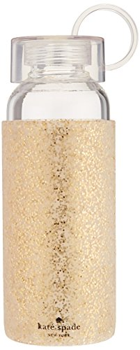Kate Spade New York Water Bottle, Gold - Dot Kate Spade Glasses Polka
