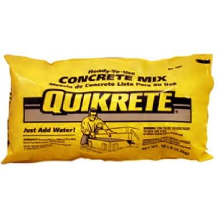 Quikrete 110110 Concrete Mix 10lb Quikcrete Amazon
