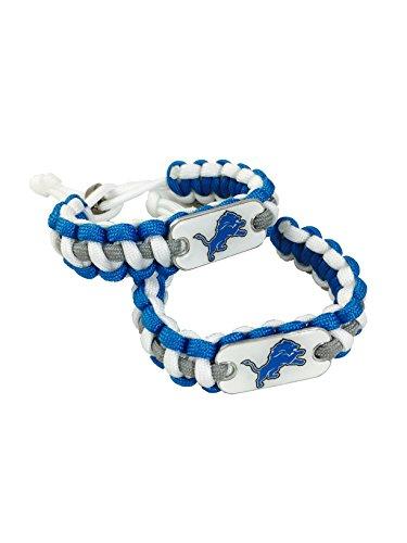 Stafford Bedding (Detroit Lions Bracelet NFL Paracord Bracelets (2) Pack Lions)