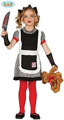Disfraz de muñeca gótica infantil: Amazon.es: Juguetes y juegos