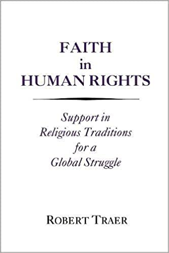 Epub Gratis Faith In Human Rights: Support In Religious Traditions For A Global Struggle