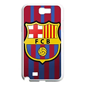 Barcelona Barcelona Samsung Galaxy N2 7100 Cell Phone Case White VC9450G5