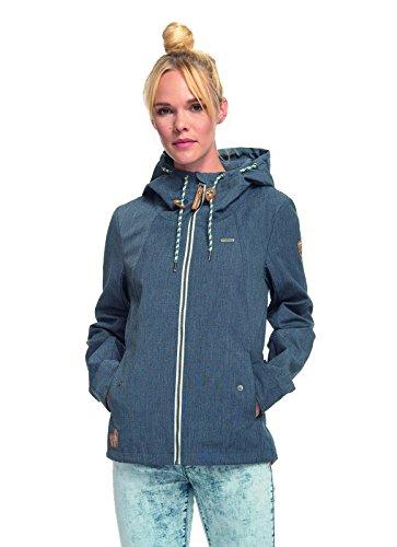 Ragwear–Chaqueta con capucha Azul Marino