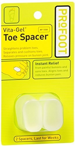 VITA-GEL TOE SPACERS PROF Size: 2 by Profoot