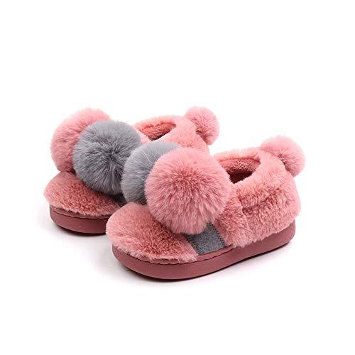 Bicolore Palla 5cm Hong grey Uomini 15 Per Di Bambini Bambini 17 Pink1 21 Inverno Donne E Nuovo Pantofole Cotone 20cm Doppia Jia Scarpe 16 Carino 1nIqXdpwX4