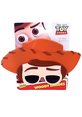 Toy Story Woody Sunstaches Instant Costume Sunglasses by Sunstaches (Disney Buzz Lightyear Costume)