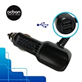 all accesories - Micro USB Car Charger Lighting 2 In 1 Connectors 2 Usb Ports Excellent Quality Top Perfect Gadget Charge All Apple Iphone Ipad Phones Tablets Accesories Tool Essential Fast Robust Great Price Ocban