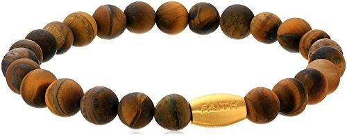 Satya-Jewelry-TigerS-Eye-Gold-Plated-Truth-Mens-Stretch-Bracelet