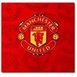 Man Utd Face Towel