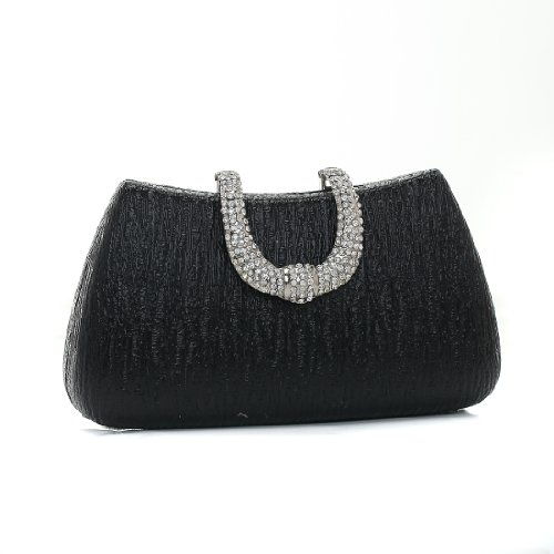 Damara - Bolso al hombro para mujer Medium, color negro, talla Medium negro - negro