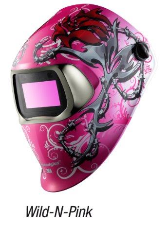 3M Speedglas Wild-N-Pink Welding Helmet 100 with Auto-Dar...