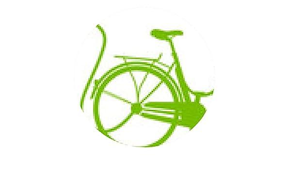 alfombrilla de ratón E-bici eléctrica de la bicicleta silueta del ...