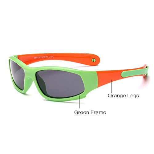 de C16 5 Ni de Goma C7 1 Flexible polarizado Amarillo Gafas Pynxn de Ni Negro as Gafas Verde Ni Y Sol os los Gafas Aproximadamente Seguridad vidrios Sun Naranja os de wUpgq
