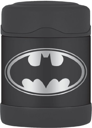 (Thermos Funtainer 10 Ounce Food Jar, Batman)