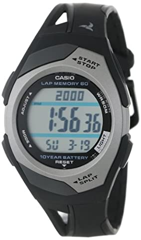 Casio STR300C-1V Sports Watch - Black (Sport Watch Ladies)