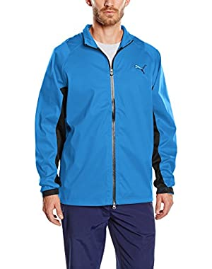 Golf Men's 568308 Waterproof Rain Jacket - US L - Strong Blue