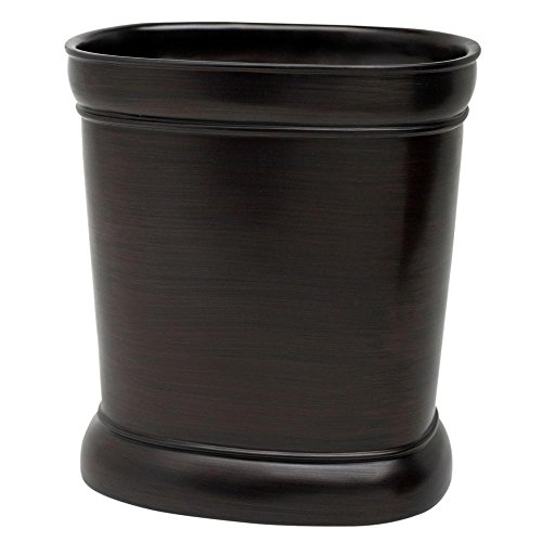 Zenna Home, India Ink Marion Waste Basket, Oil Rubbed Bronze