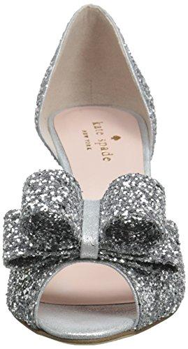 Kate Spade New York Women's Sela Pump Silver Glitter 6OHwlX