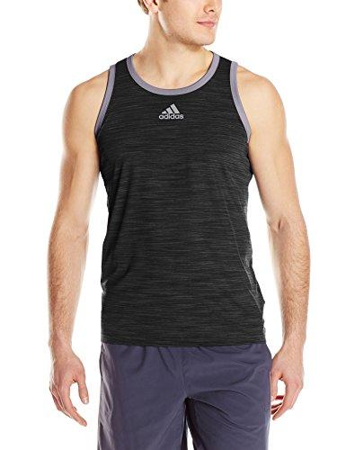 Débardeur Chiné Adidas Homme Noir / Granit