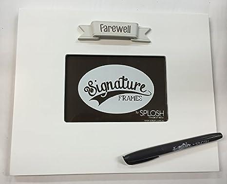 Amazoncom Splosh Farewell Signature Photo Frame The Frame You