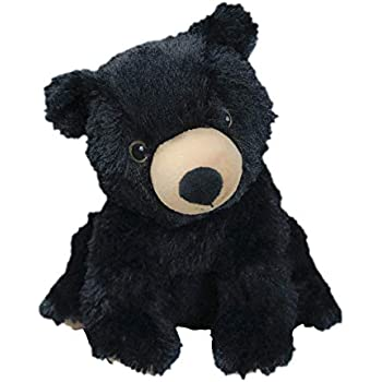 Intelex Warmies Cozy Plush Black Bear