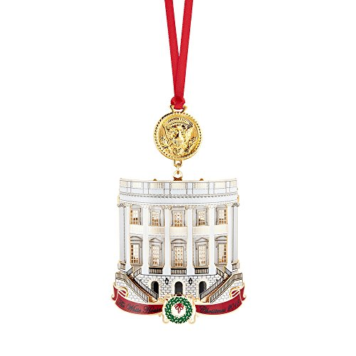 Official 2018 White House Christmas Ornament]()