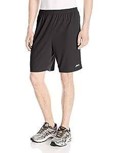 ASICS Mens 9 Inch Team Knit Short, black, 2XS