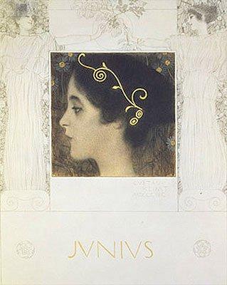 Klimt (Junius, 1896) Print on Fine Art Paper Reproduction (16.5x12.2 in) (42x31 cm)