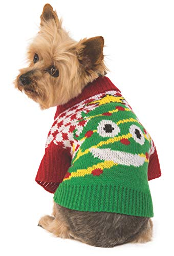 Rubie's Ugly Sweater with Xmas Tree, Large]()