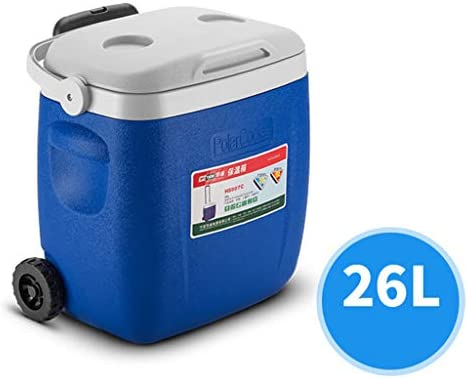 JCOCO Caja de refrigeración con Ruedas Grandes - Comida Bebida ...