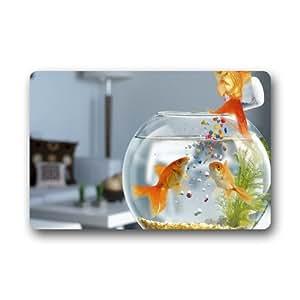 Generic animales saltando de peces felpudo (23.6por 15.7-inch)