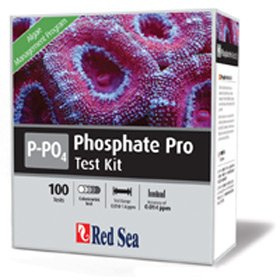 Red Sea Phosphate PO4 Pro Test Kit 100 Tests by Red Sea
