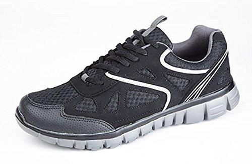 DekMeteor - Zapatillas hombre Negro - negro y gris