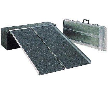 ポータブルスロープ PVSシリーズ(アルミ2折式タイプ) PVS210 長さ2.1m/   B001GZBM5A