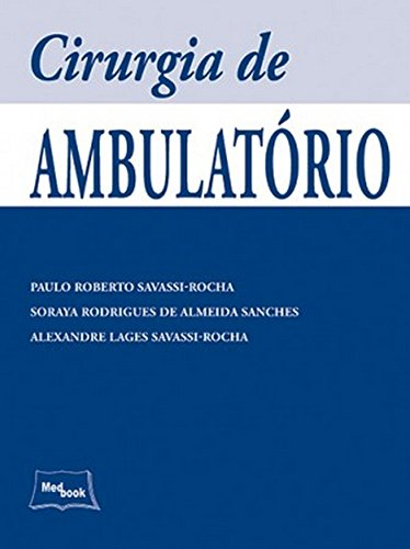 Download Cirurgia de Ambulatório pdf