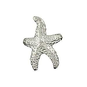 Sterling Silver Pierceless Left Only Ocean Sea Star Starfish Ear Cuff Wrap