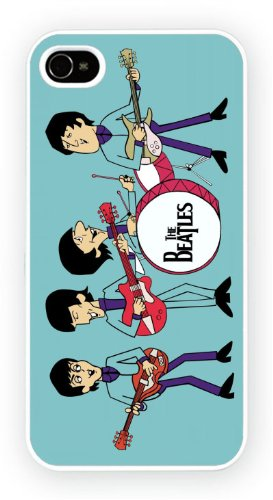The Beatles Characture Cartoon, iPhone 5C, Etui de téléphone mobile - encre brillant impression
