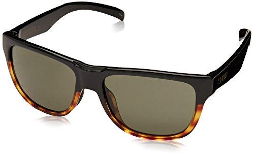 Smith Optics Lowdown Slim Sunglass with Carbonic TLT Lenses, Black Fade Tortoise/Gray Green