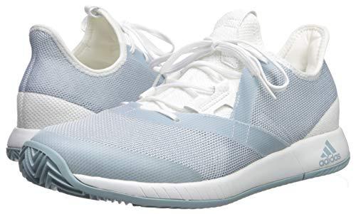 adidas Women's Adizero Defiant Bounce, ash Grey/White, 5 M US by adidas (Image #6)