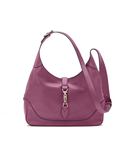 Gucci Authentic Handbag Bag - Gucci New Jackie Women's Shoulder Bag Handbag Pink Rose Leather 277520 AMKOG