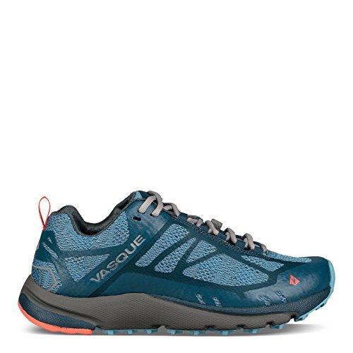 Vasque Constant Velocity II Trail Running Shoes - Women's, Alaskan Blue/Majolica Blue, 8