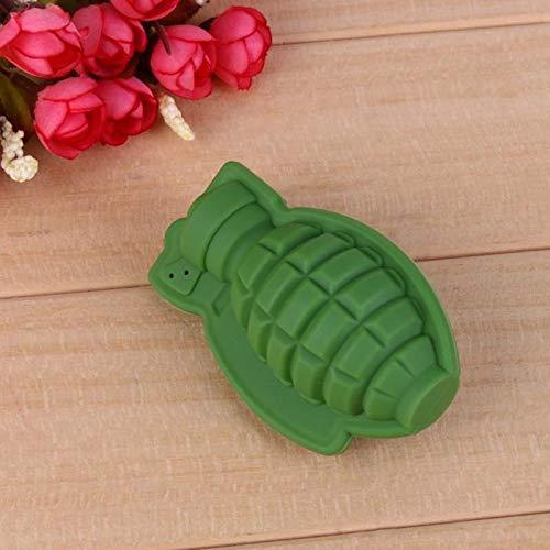 Productos del hogar convenientes 3D forma de la granada de hielo del molde del cubo de la bandeja para hacer helado partido local de copas fabricante de whisky vino de hielo de silicona Bar Appliance