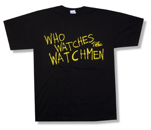 "Watchmen ""Who Watches?"" T-Shirt"