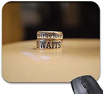 True Love Waits Quotes Cool Amazon Waiting For Love Quotes True Love Waits Mouse Pad