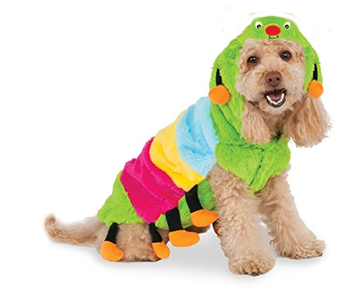 Caterpillar Hoodie for Pet, Small ()
