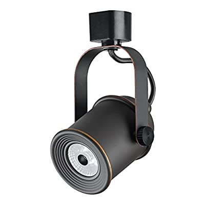 "Duracell Brand D-10TL-930-OR-BK-24-D LED Dimmable Track Lighting, 5"", Black"